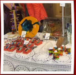 Jeanine Baker table at 2016 Cranberry Fair
